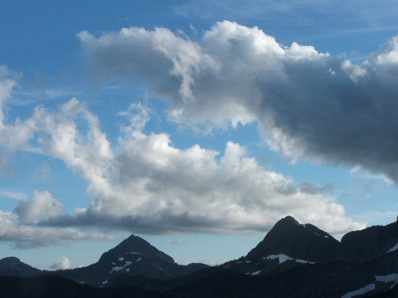 Liberty Peak and Big Bear.