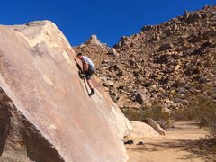 Rock Climbing Photo: The High Step Mantle is the crux, unless your unde...