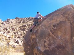 Rock Climbing Photo: Top of the problem