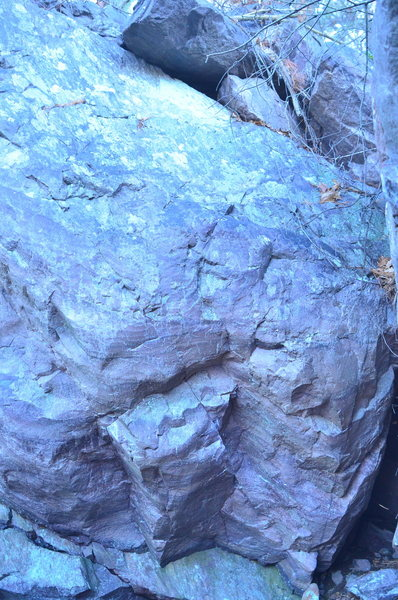 Rock Climbing Photo: Apples And Bananas starts on two good edges and go...
