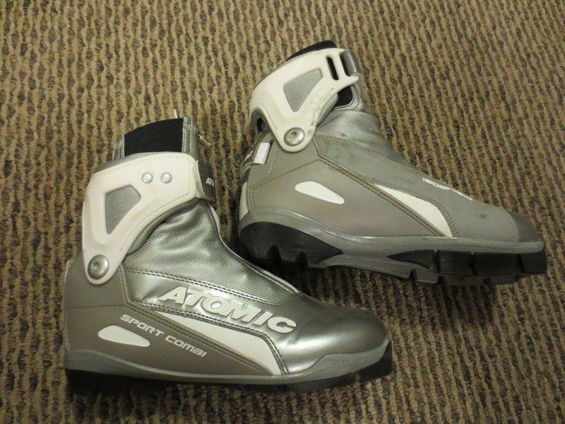 Atomic Sport Combi cross country ski boot. Size 38.