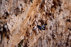 "Rock Climbing Photo: Getting lost in a sea of stalctites on ""Morga..."
