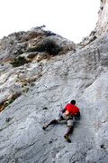 Rock Climbing Photo: Some warm up.
