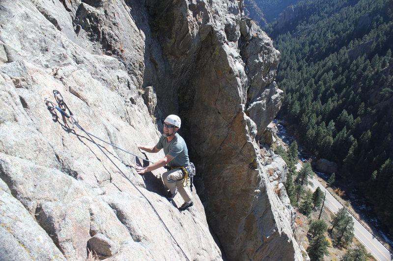 Bihedral area Boulder Canyon