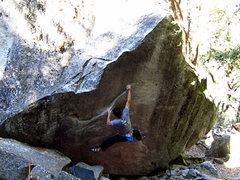 Rock Climbing Photo: The Diamond (V8).