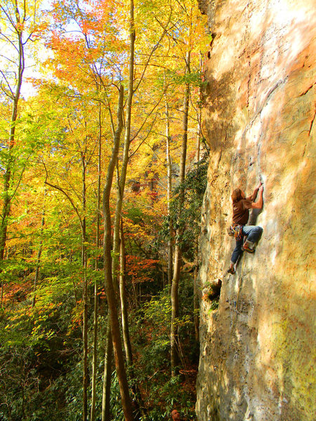 Rock Climbing Photo: To Defy The Laws Of Tradition
