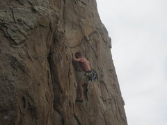 Rock Climbing Photo: Full value for the grade