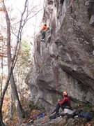 Rock Climbing Photo: Fun climbing all the way.