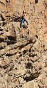 Rock Climbing Photo: Finishing the hard stuff Native Rituals (5.12+)