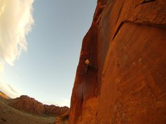 Rock Climbing Photo: Russ on Atomic Indian