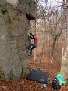 Rock Climbing Photo: One of my favorite problems!