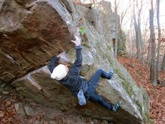 Rock Climbing Photo: Girl Burl.