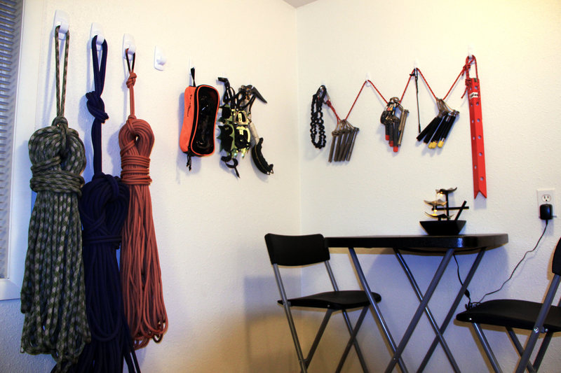 Rock Climbing Photo: Ropes and winter gear