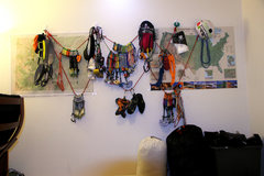 Rock Climbing Photo: Trad Rack...