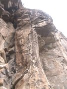 Rock Climbing Photo: This pillar is the start for the routes Dona Pili ...