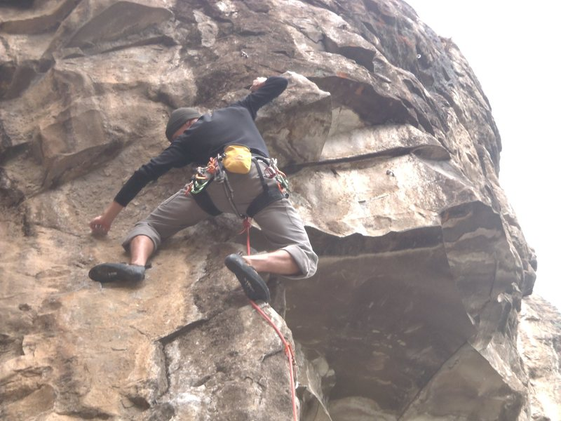 Sandy Preiss at the crux of Don Polla