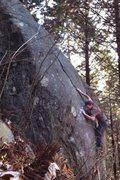 Rock Climbing Photo: Buena Linea- V8