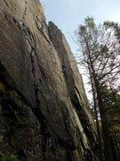 Rock Climbing Photo: Approaching the final corner