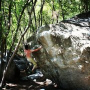 Rock Climbing Photo: Das craigers cruisin it!