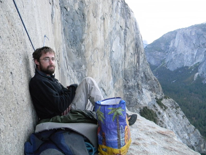 Rock Climbing Photo: On El Cap Tower