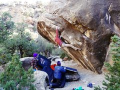 Rock Climbing Photo: Stand Up Comedian
