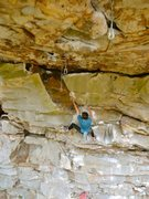 Rock Climbing Photo: Getting ready for a blood rush to the head on Sols...