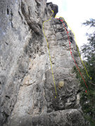 Rock Climbing Photo: Left to right 1. Mission Statement 2. Unknown 3. C...