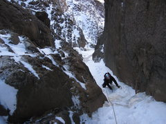 "Rock Climbing Photo: ""North Central Couloir""."