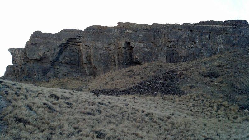 Rock Climbing Photo: Cannabis Crew Wall