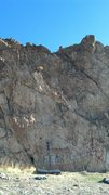 Rock Climbing Photo: Route start on the right side, right above the las...