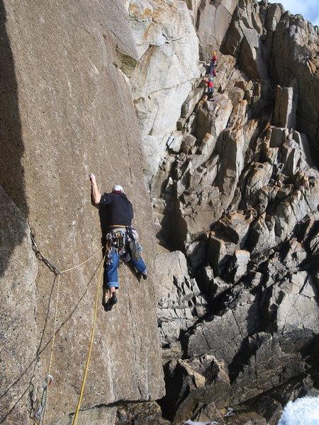 Rock Climbing Photo: cull