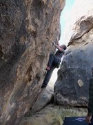 Rock Climbing Photo: The start of the UP then Down problem version.