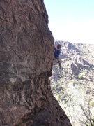 Rock Climbing Photo: Jimbo cruising the crux