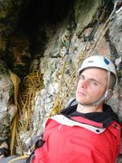 Rock Climbing Photo: too long for me in the smelly guano cave