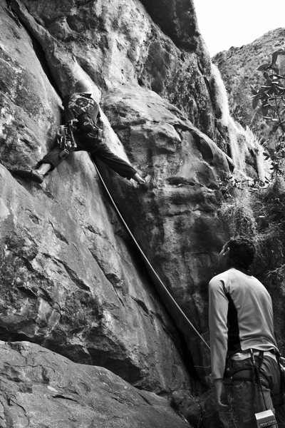 "Rock Climbing Photo: Foto de Aldo Brando, Juan Urrego En ""La Mierd..."