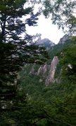 Rock Climbing Photo: Mt Mizugaki