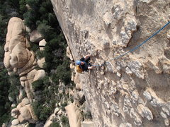 """Rock Climbing Photo: Steven on a Sea of Chicken Heads on """"Whats my..."""