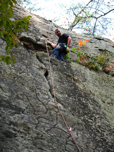 Rock Climbing Photo: Face Up To That Crack
