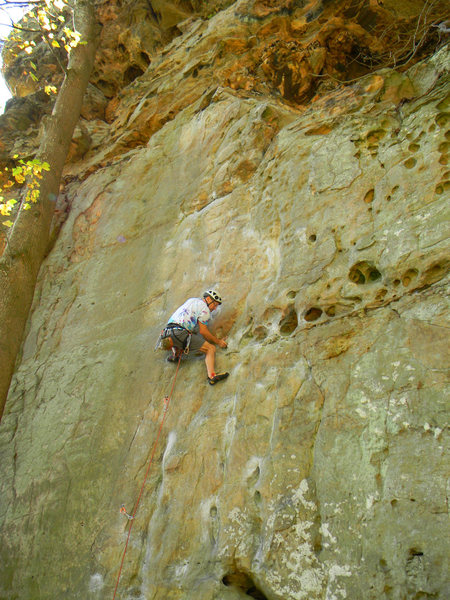 Rock Climbing Photo: Possum Lips