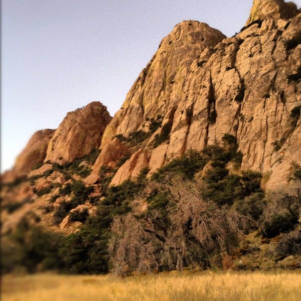 Rock Climbing Photo: Sheepshead and Muttonhead.