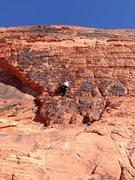 Rock Climbing Photo: Debbie on her first climb