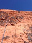 Rock Climbing Photo: Steve climbing Sweets to the Sweet