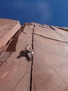 Rock Climbing Photo: Jake starting up Killer!