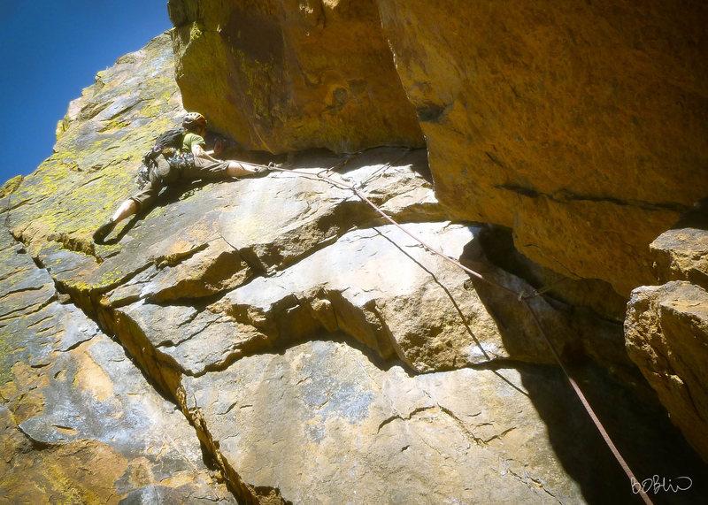Rock Climbing Photo: Will Gorden on lower Rover.