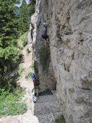 Rock Climbing Photo: Blacktail Butte