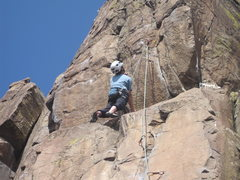 Rock Climbing Photo: Industrial Disease North Table Mountain Golden Col...