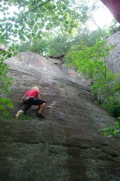 Rock Climbing Photo: Rachel on Totally-Clipse