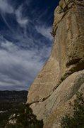 Rock Climbing Photo: on top bulge of Twelve O'Clock High
