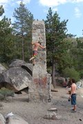 Rock Climbing Photo: historical bouldering