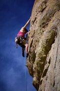 Rock Climbing Photo: Close-up of top bulge